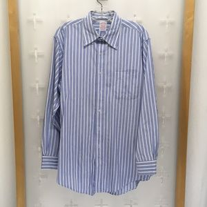 Brooks Brothers Men's Ls Casual Button Front Shirt